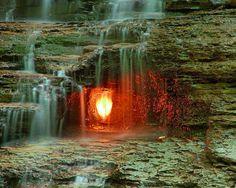 eternal flame waterfall chestnut ridge park buffalo ny -