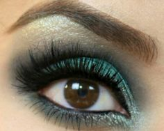 Emerald Decadence - Click Pic for 18 Makeup Tips for Brown Eyed Girls