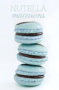 Nutella Macarons | Sprinkles for Breakfast