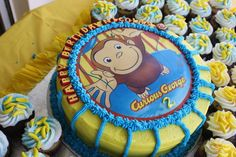 Curious George Birthday Party Ideas | Photo 1 of 38 | Catch My Party