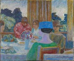 Bonnard, Pierre – Le thé, 1917 – Oel auf Leinwand