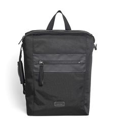 Calvin Klein Mens Lars Nylon Travel Tech Backpack Bag