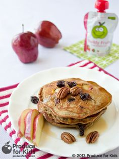 Nutty Apple Pancakes