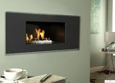 Buy the Verine Atina High Efficiency Hole In The Wall Gas Fire from Direct Fireplaces with easy pay finance options and Fast Free UK Delivery. Wall Gas Fires, Flueless Gas Fires, Living Flame Gas Fire, Electric Fires, Electric Fireplace, White Stone, Wall Mount, Modern, Home Decor