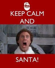 probably my favorite christmas movie.   santa!? ... i know him!