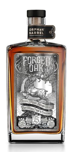 Forged Oak - 15 year old Kentucky Straight Bourbon Whiskey distilled at New Bernheim Distillery, Louisville