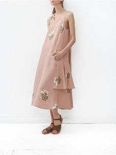 Creatures of Comfort Lilith Dress- Flora Pink