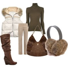 """browns"" by pam-mcgee on Polyvore"