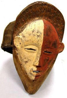 20th century Geography: Angola Culture: Holo Medium: Wood, cloth, fiber, pigment Dimensions: H. 11 in.