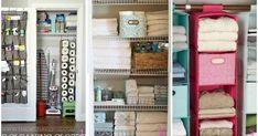 Idee per organizzare e tenere in ordine il ripostiglio