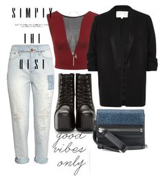 """""""《☆》"""" by bluveraa ❤ liked on Polyvore featuring H&M, Jeffrey Campbell, Miss Selfridge, Dorothy Perkins, River Island and HUGO"""