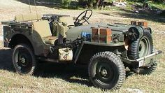 WWII Airborne Jeep Features