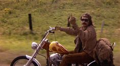 Route from the 1969 Movie Easy Rider 1969 Movie, I Movie, Movie Stars, Jack Nicholson, Sidecar, Dennis Hopper Easy Rider, Motorcycle Art, France, Cool Bikes