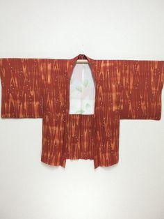 """私の #etsy ショップからエキサイティングな新着商品を紹介します: Japanese haori Jacket """"dyed"""" Free shipping!  No.180124122 #haori #haorijacket"""