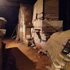 deightonceramics's photo on Instagram Clemson U. Wood-fire kiln, SC