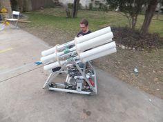 frc team 3997 robotics project 7 barrel t shirt cannon