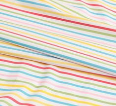 Colorful Striped Cotton by the yard width 44 inches 88809-2