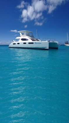 Nirvana 47 Robertson & Caine Luxury Power Catamaran Charter