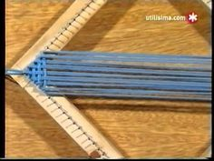 How to crochet daisy afghan blanket free easy pattern tutorial Pin Weaving, Card Weaving, Tablet Weaving, Loom Weaving, Crochet Daisy, Crochet Cross, Inkle Loom, Peg Loom, Weaving Textiles