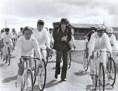Christopher Jones doesn't ride a bike.