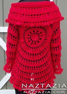 Free Pattern - Crochet Circle ༺✿ƬⱤღ  https://www.pinterest.com/teretegui/✿༻