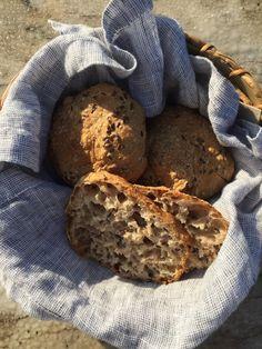 Diy taululla eat and enjoy life! Bread Recipes, Cooking Recipes, Deli, Graham, Nom Nom, Good Food, Goodies, Food And Drink, Snacks