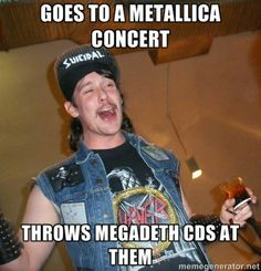 Has a wife and kids keeps flirting with 17 year old girls - extremely drunk metalhead Kerry King, Killswitch Engage, Extreme Metal, Wife And Kids, Power Metal, Nu Metal, Music Humor, Band Memes, Thrash Metal