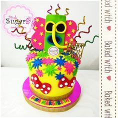 Torta carnaval de Barranquilla marimonda negrita puloy Carnaval