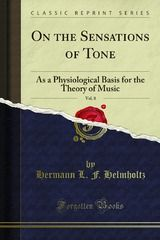 Download the entire book for free today only! #music On the Sensations of Tone