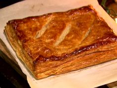 Soppressata and Cheese in Puff Pastry recipe from Ina Garten via Food Network