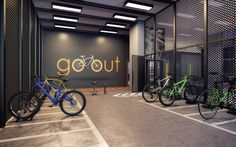 VN Álvaro Rodrigues - Apartamento no Brooklin - Vitacon Garage Velo, Gym Center, Bicycle Store, Bike Room, Basement Office, Grant Park, Bike Parking, Fitness Design, Environmental Design