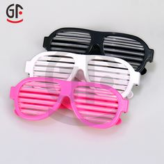 Wholesale Party Favor Supply Sound Activated Led Light Sunglasses Eye Glasses…