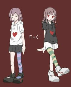 frisk and chara Undertale Drawings, Anime Undertale, Undertale Cute, Undertale Pictures, Undertale Ships, Chara, Gifs, Sans Cute, Yandere Simulator