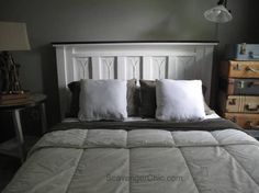 upcycled tin roofing shingles headboard diy, bedroom ideas, repurposing upcycling, roofing