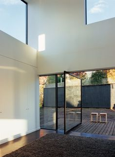 Space, minimalism #glass #modern #cool #top #best #design #love #inspiration #simplicity #minimalism #minimal #prefab #prefabhouse #house #concrete #white