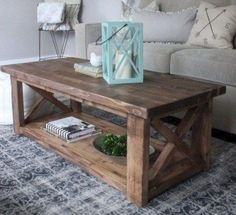 Rustic Furniture, Custom Rustic Furniture More - Coffee Table DIY