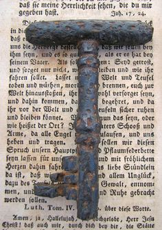 Skeleton Key 18th Century forged iron