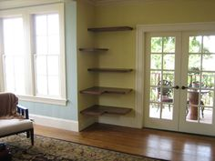 floating shelves - Google Search - love this idea