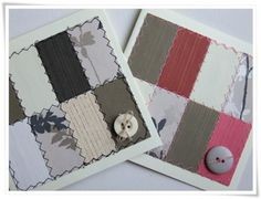 Patchwork cards - Love these cards!