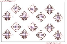 Easy Crafts - Explore your creativity: Kasuti embroidery work