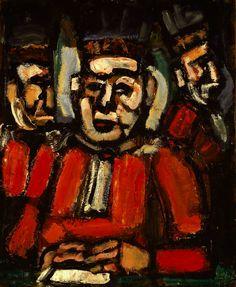 Georges Rouault, The Three Judges,1936