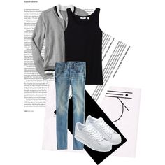 """What a problem bro?"" by kate-dep-dep on Polyvore #tomboy_style #adidas #sneakers"