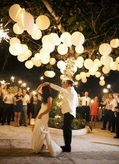 Nog op zoek naar creatieve verlichting & decoratie op je bruiloft? Wat dacht je van lampionnen!