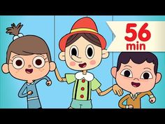 The Pinocchio + More | Kids Songs | Nursery Rhymes | Super Simple Songs - YouTube