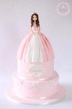 Princess Aidriana - Cake by Noemi