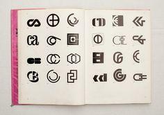 021.jpg (1600×1130)  TRADE MARKS & SIMBOLS Volume 1: Alphabetical Designs | YASABURO KUWAYAMA #logo #design #Inspiration #graphic #shape #best #awesome #typography #best #pactice