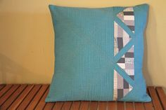 Shimmer fabric pillow. by alissahcarlton, via Flickr