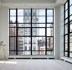 Spacious, light, HUGE windows. Sensing a theme here. And a space doesn't have to be big to be spacious.