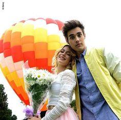 Martina Stoessel y Jorge Blanco en Violetta 3