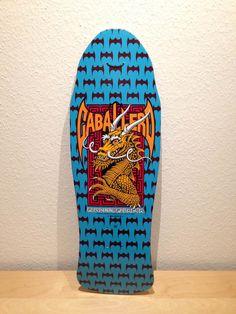 Powell Peralta Caballero Bats 'n' dragon, blue dip, reissue 2006